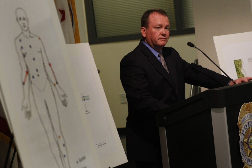 Long Beach Police Chief Jim McDonnell announced he will enter the race for Los Angeles County sheriff.