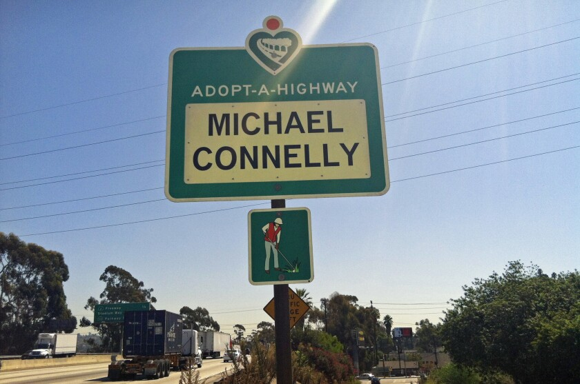 This clean freeway is brought to you by Michael Connelly