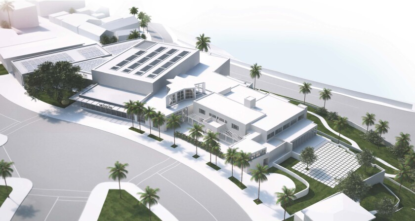 MCASD rendering by Selldorf Architects