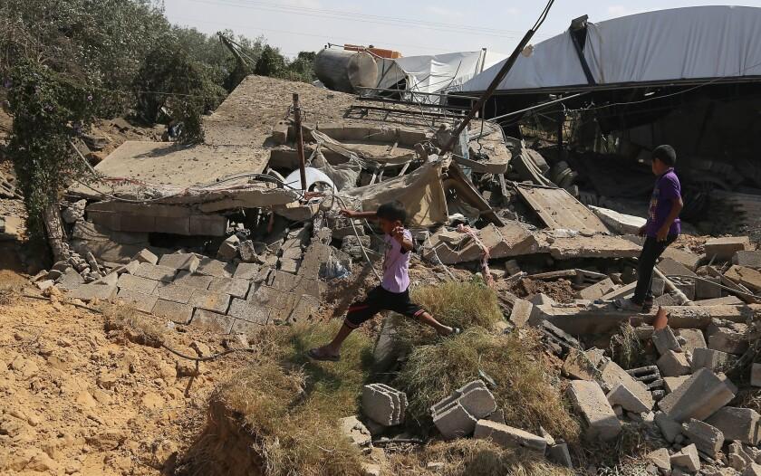 Rafah missile strike