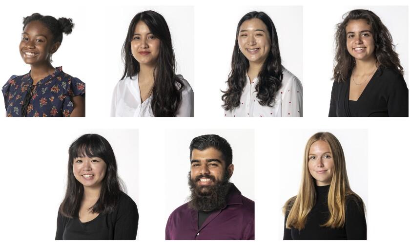 Community Journalism Scholars Program members.