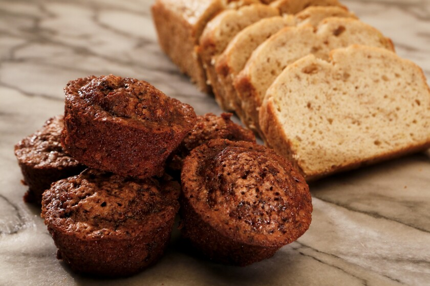 Scores of common baked goods contain a possible cancer-causing additive called potassium bromate, according to a new analysis by Environmental Working Group.
