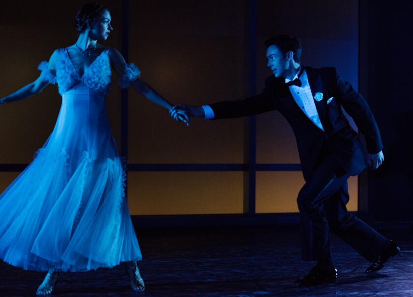 """Elise Filo and Joshua Brown in """"Astaire Dances III"""""""