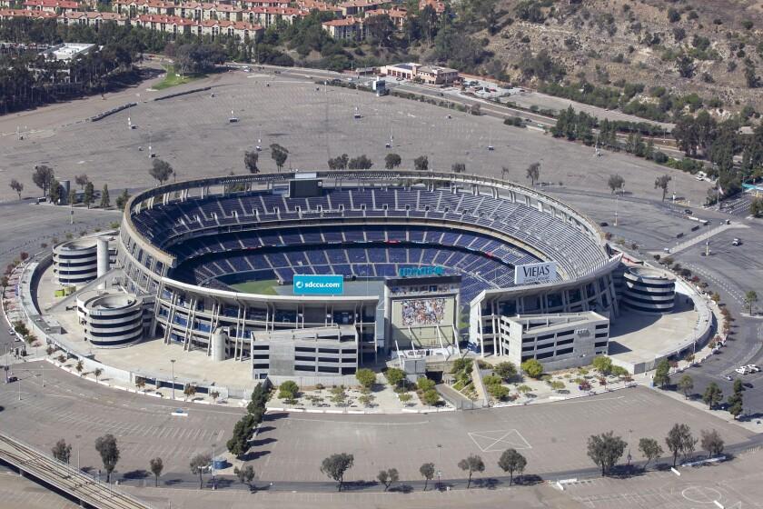 SDCCU Stadium in October 2019.