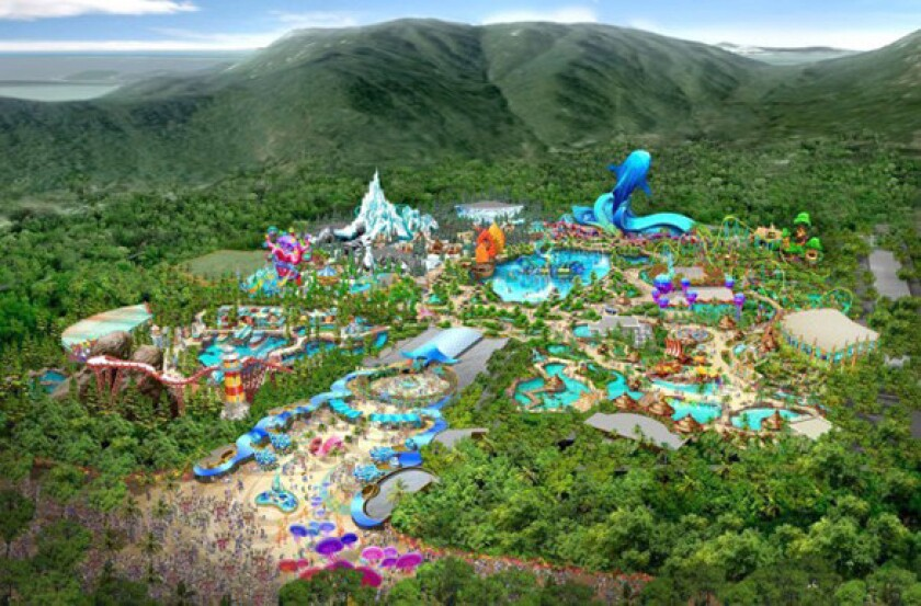 Huge Chinese Theme Park Project Aims To Be The Orlando Of China Los Angeles Times