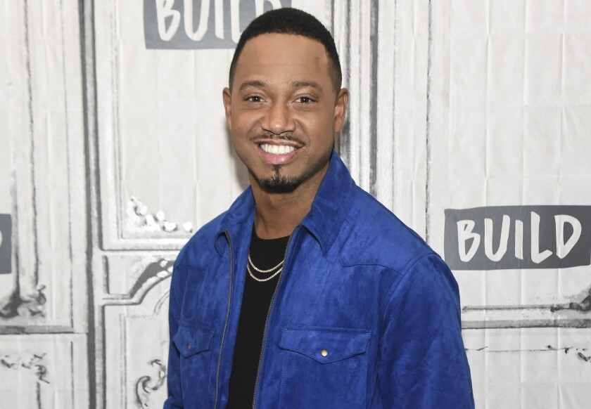 A car believed to be owned by actor and BET star Terrence J was involved in a Tuesday morning hit-and-run in California.