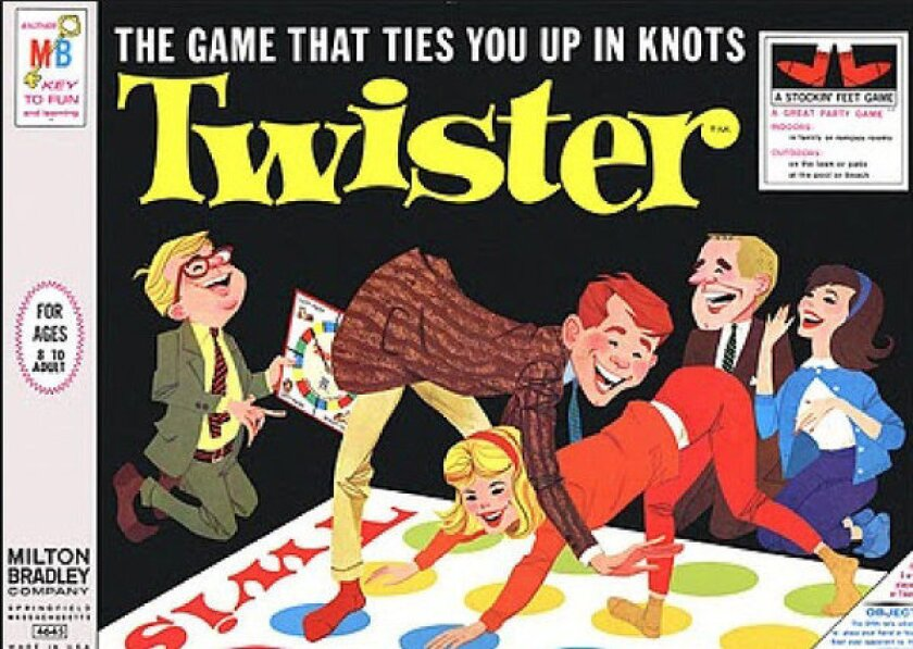 Charles Foley co-created the party game Twister.