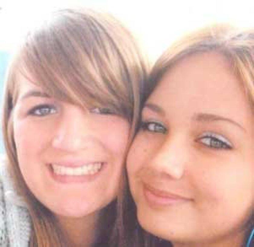 "Julianne Buzzelli, 16, and Alexis ""Lexi"" Bailey, 15."
