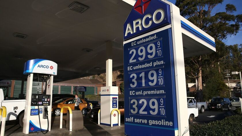Gas Prices Drop To Lowest Level In Nearly Four Years