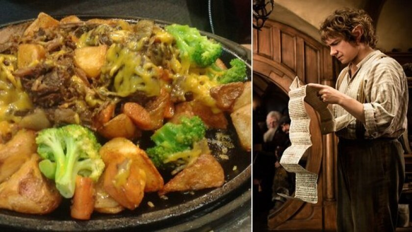 """""""The Hobbit,"""" in food and film"""