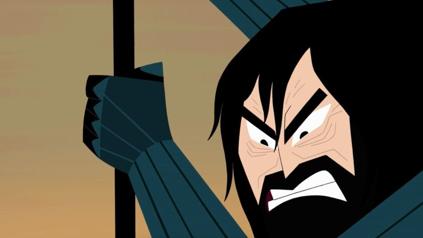 """After a hiatus of nearly 13 years, """"Samurai Jack"""" returns to television in search of closure."""