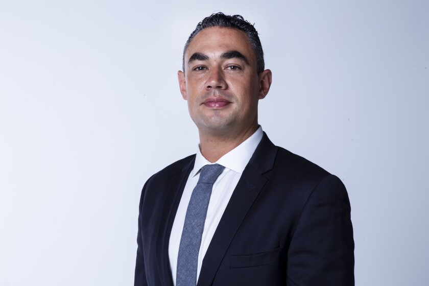 Sean Elo-Rivera, a candidate for San Diego City Council District 9