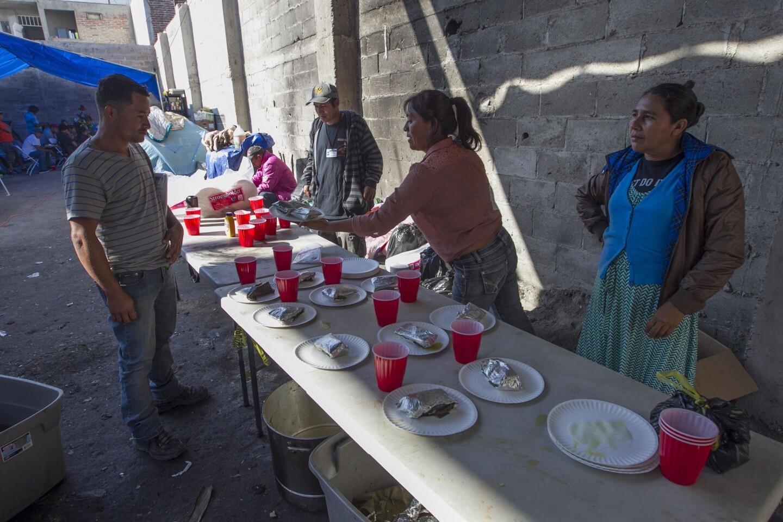 La Nochebuena de migrantes