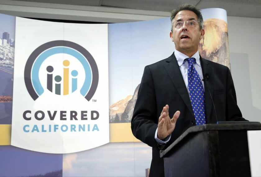 Peter Lee, executive director of Covered California, the state's health insurance exchange
