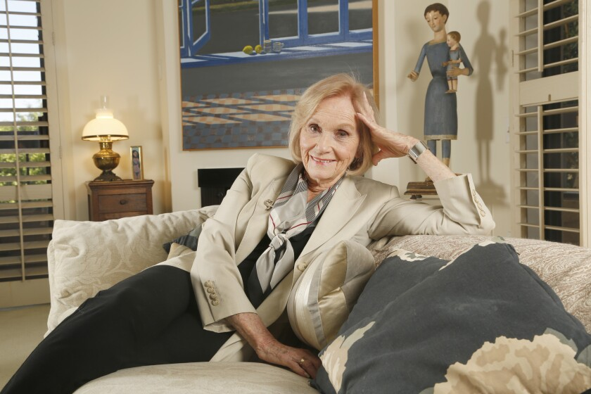 At 89, Eva Marie Saint is 'still in the ballgame'