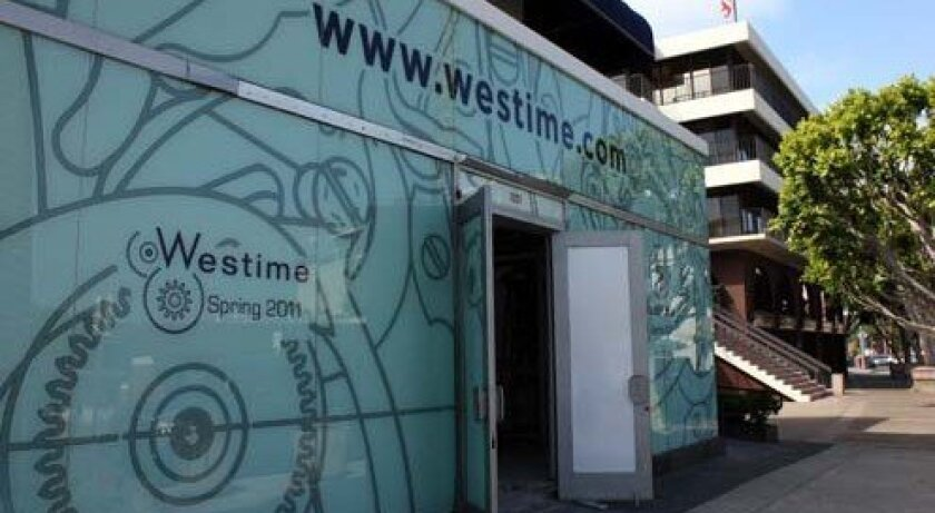 Westime, a luxury watch store, is set to open soon in La Jolla. Photo: Kathy Day