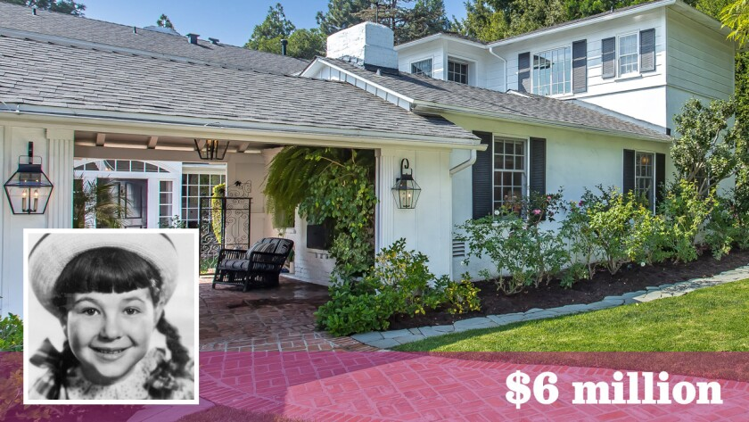 Jane Withers' former home in Bel-Air has come to market for $6 million.