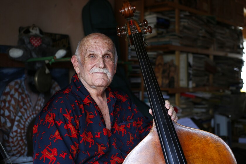 Contrabass legend Bertram Turetzky continues to write new music, as he will demonstrate at his 87th birthday concert Saturday at Dizzy's.
