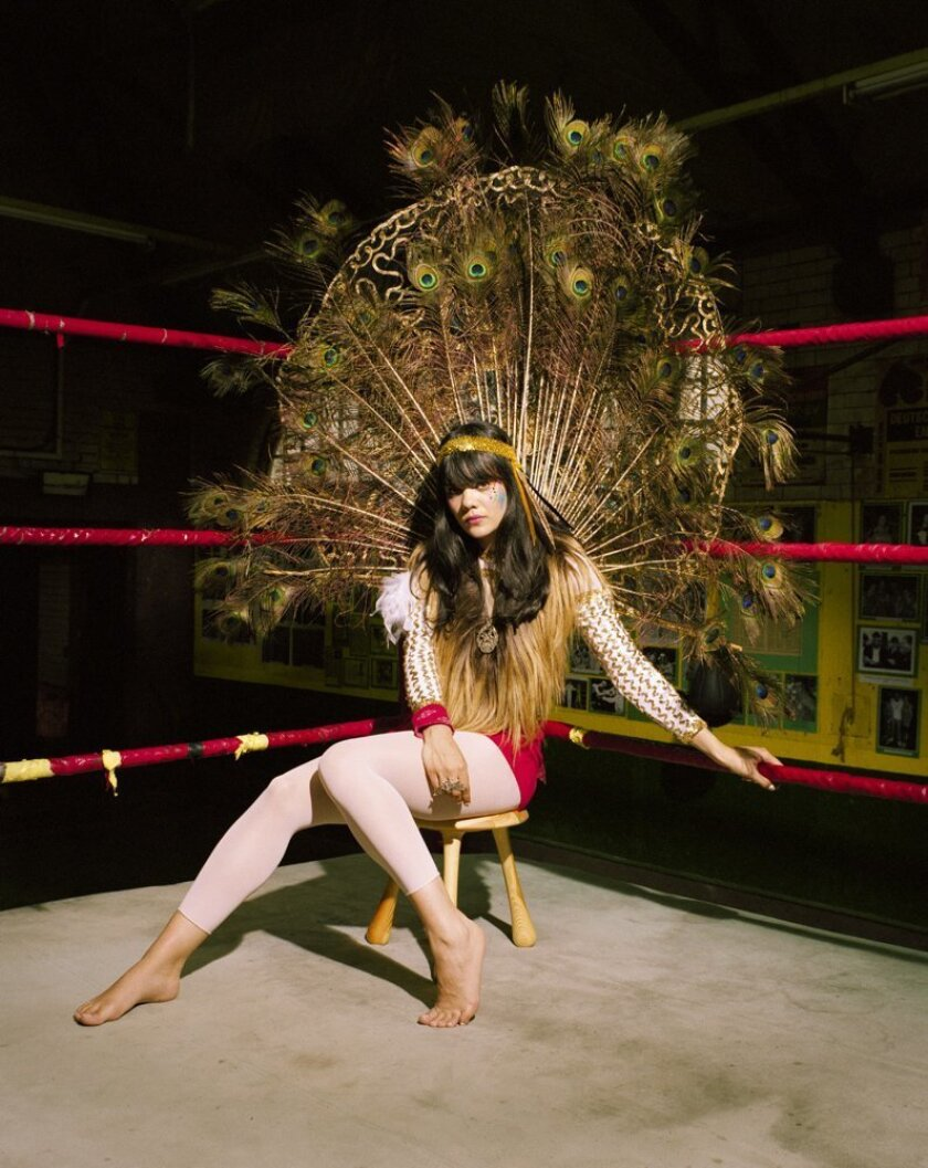 Bat for Lashes is the stage name of singer Natasha Khan.