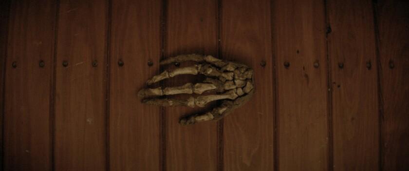 A skeleton hand