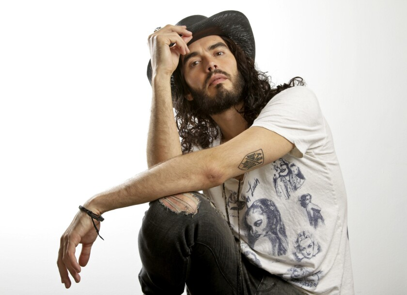 """Russell Brand is skipping the premiere of his SXSW documentary because it makes him """"very uncomfortable."""""""