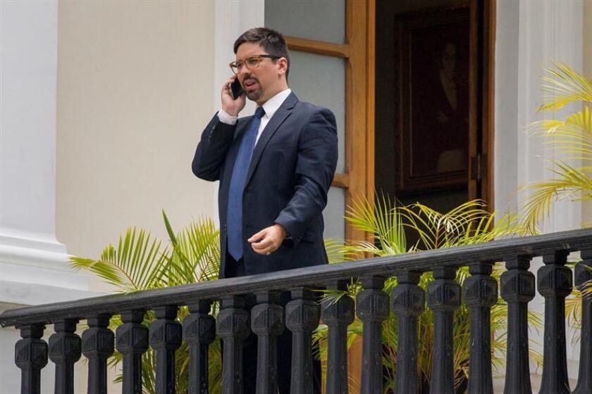 El primer vicepresidente de la Asamblea Nacional, Freddy Guevara. EFE/ARCHIVO