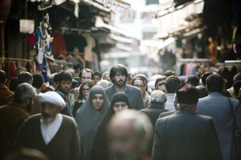 """Ben Affleck stars in """"Argo,"""" which was the No. 1 film at the box office for the second time."""