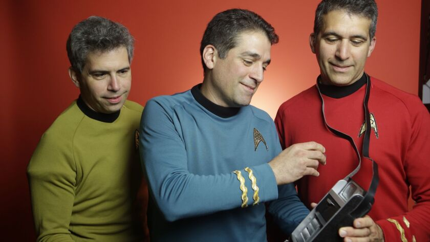 The Harris brothers, George, Basil and Gus, are members of team Final Frontier.
