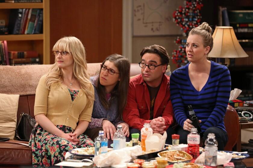 "CBS' ""Big Bang Theory"" drew nearly 18 million viewers Thursday night."