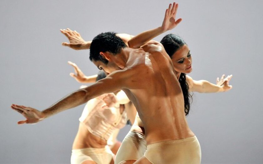 """La Jolla Music Society presents Malandain Ballet Biarritz performing three ballets — """"Estro"""" to music by Vivaldi, """"Nocturnes"""" to music by Chopin and """"Bolero"""" to music by Ravel. 8 p.m. Sunday, May 3, 2015. Civic Theatre, 1100 Third Ave., downtown San Diego. $20-$75. (619) 570-1100. sandiegotheatres.org"""
