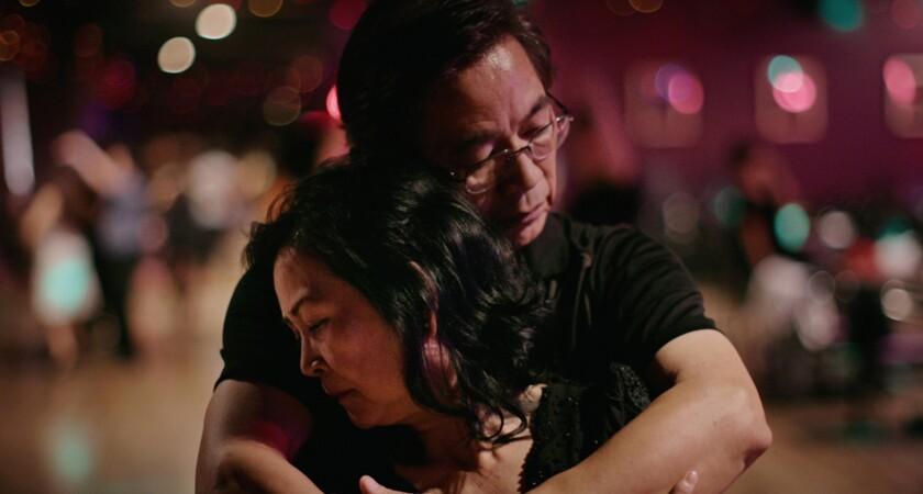 Paul and Millie Cao in the documentary short 'Walk Run Cha-Cha'