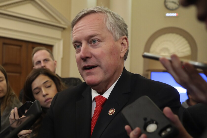 Rep. Mark Meadows (R-N.C.) said he struggled with the decision not to run for reelection and came to it after discussion with his family.
