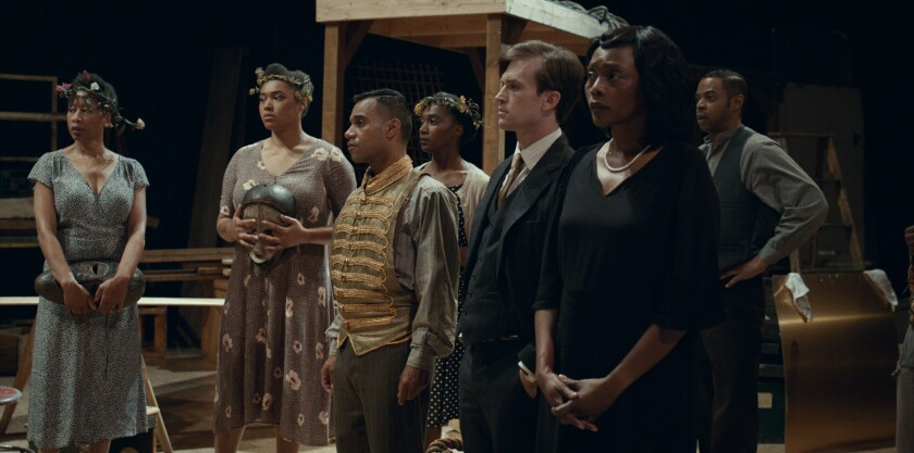"""A scene from """"Voodoo Macbeth"""" produced by USC School of Cinematic Arts."""