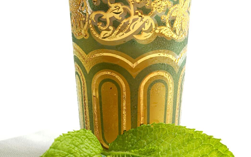 Moroccan tea ice