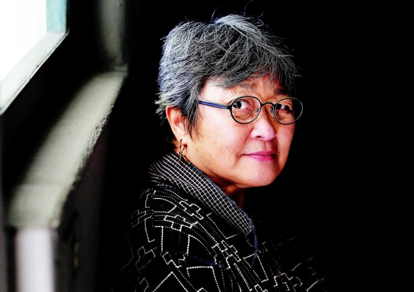 SDSU art professor and furniture maker Wendy Maruyama.