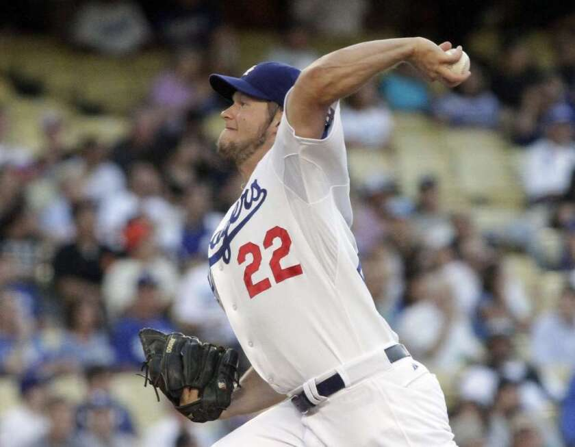 Dodgers' Clayton Kershaw named top NL pitcher by MLB players