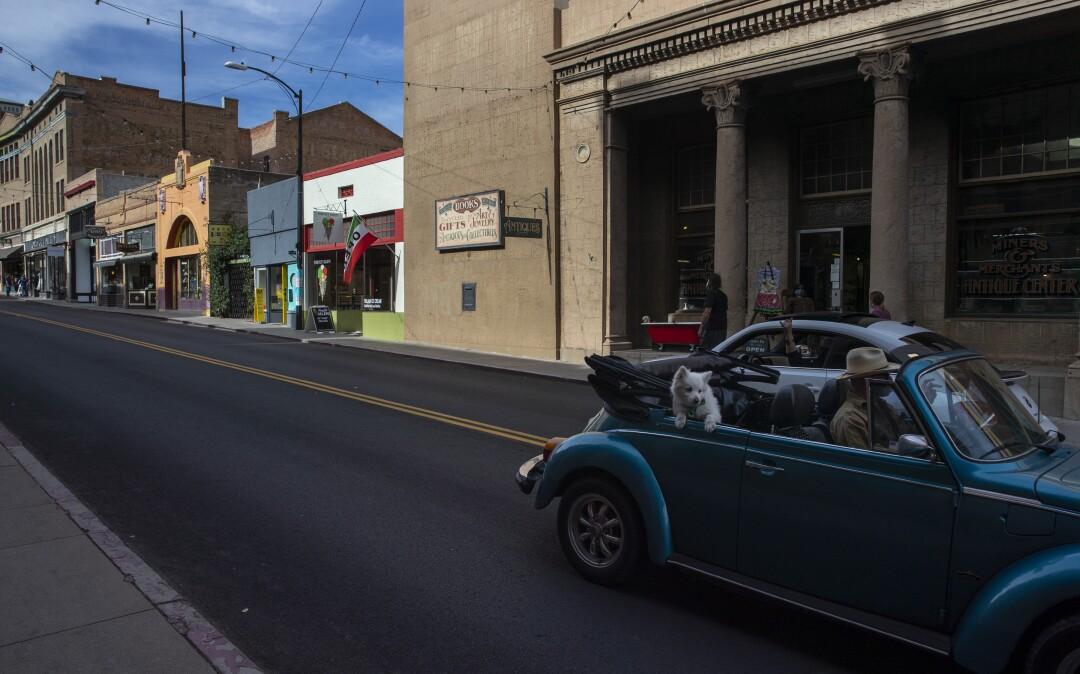 MBER 22: Main Street in downtown Bisbee.