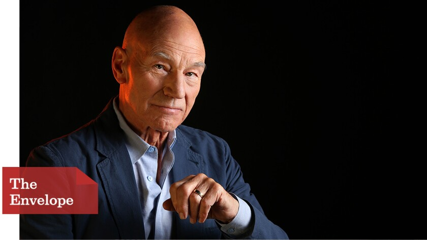 """Patrick Stewart says """"Blunt Talk"""" has """"allowed me to investigate a quality of silliness that had always been there."""""""