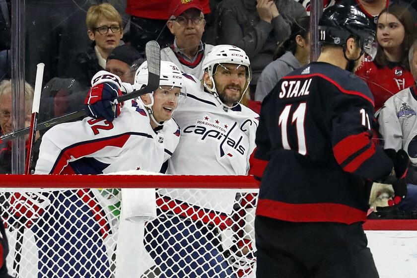 Capitals Hurricanes Hockey