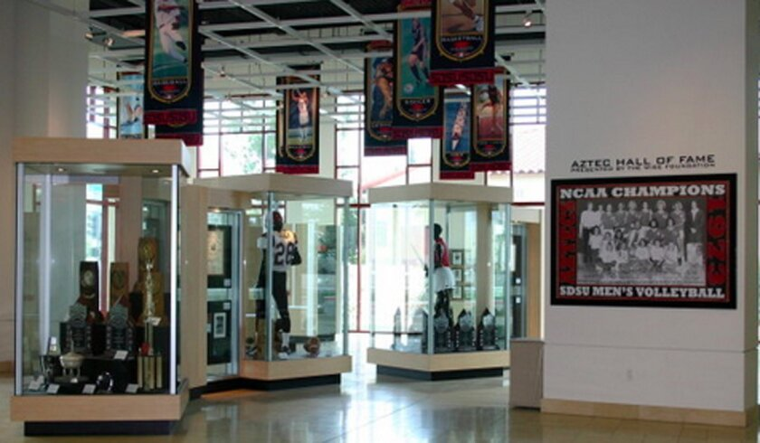 The Aztec Hall of Fame will include 138 members with the addition of the five-member Class of 2015.