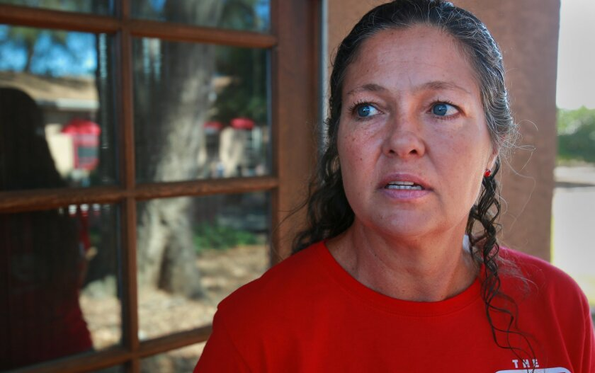 Debbie Broomell's family has shifted their agricultural practices from walnuts and citrus to grapes due to water scarcity and price. The drought has had an impact on farming in Valley Center where wells are drying up and imported water is too expensive.  Farmers are diversifying, cutting down