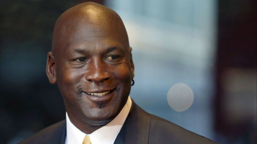 Michael Jordan, shown in 2015, is investing in Los Angeles-based aXiomatic Gaming, which owns the professional e-sports franchise Team Liquid.