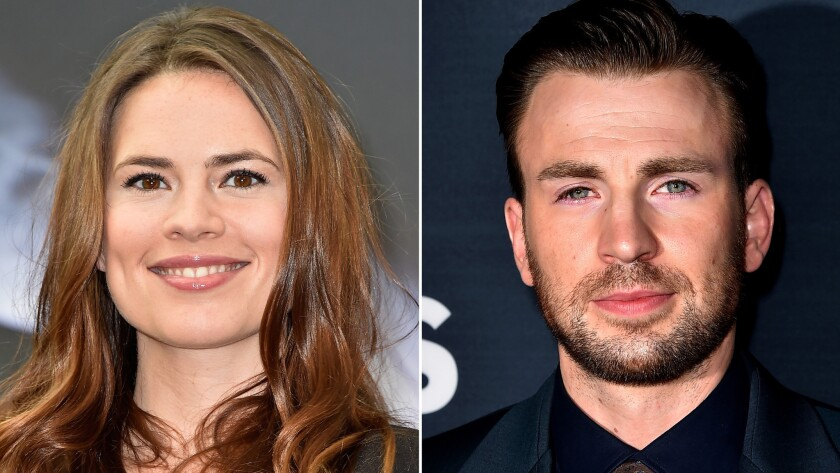 Chris Evans, Hayley Atwell are unsuspecting (and delighted