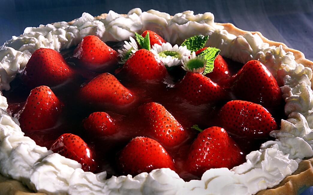 Mrs. Cook's Strawberry Pie