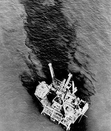 Santa Barbara oil spill - 1969