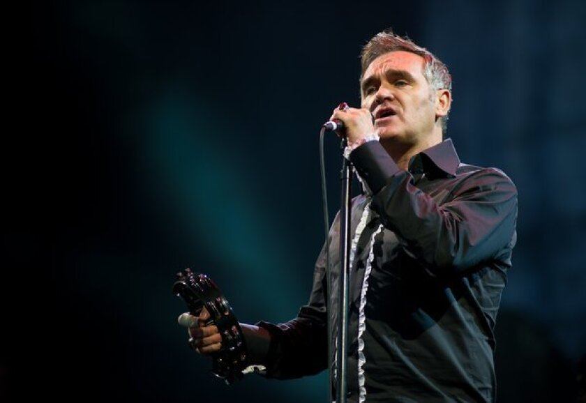 (FILE) Morrissey Autobiography Due For Release: A Look Back In Profile