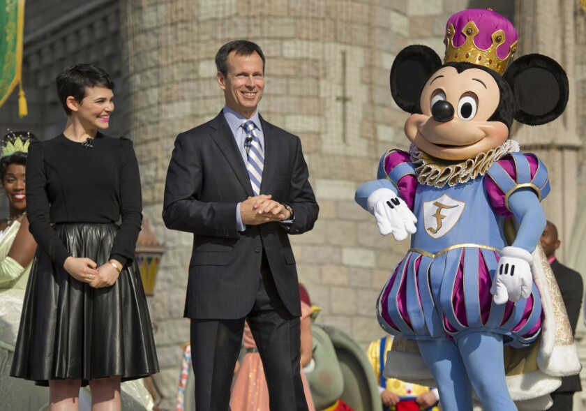 Thomas Staggs, an Illinois native who before joining Disney was an investment banker for Morgan Stanley, became chairman of Walt Disney Parks and Resorts in January 2010.