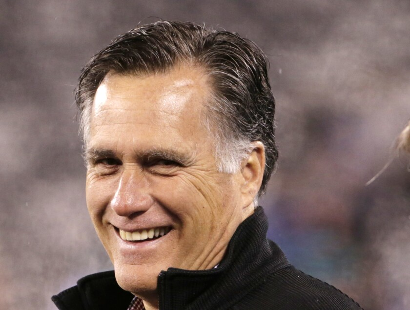 Mitt Romney is reaching out to former staff and supporters as he considers a third run for president.
