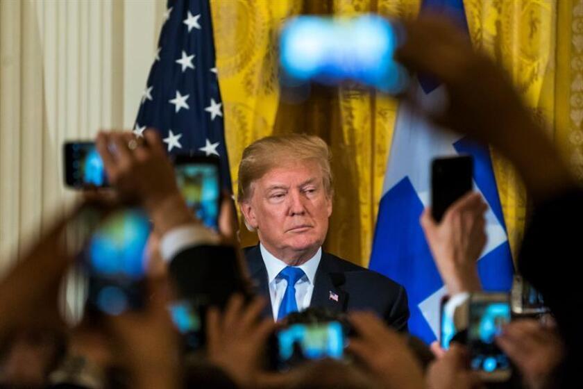 El presidente estadounidense, Donald Trump. EFE/Archivo