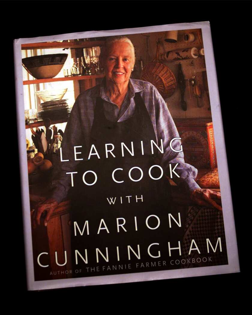"""Photo of the book """"Learning to Cook with Marion Cunningham."""""""